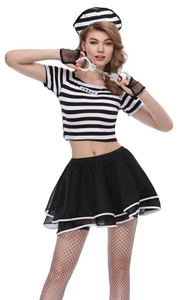 F1845 prisoner costume adult