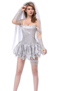 F1847 corpse bride costume women