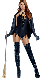 F1856 Sexy Witch Costume