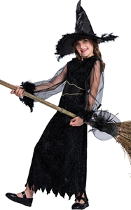 F68142 witch costume kids