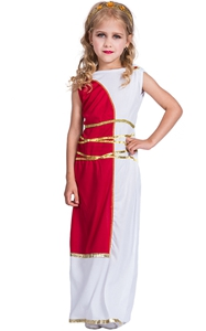 F68143 goddess costume kids