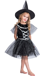 F68145 witch costume kids