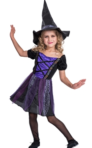 F68146-2 witch costume for girls