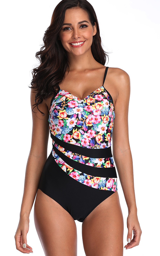 F4797 One Piece Bathing Suit