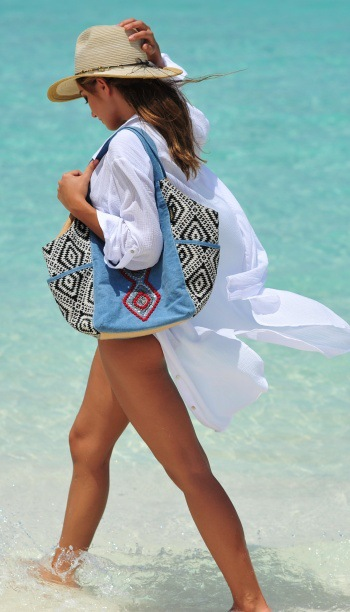 F4814-1 Cute Swimsuit cover up Beach Cover up White Tunics