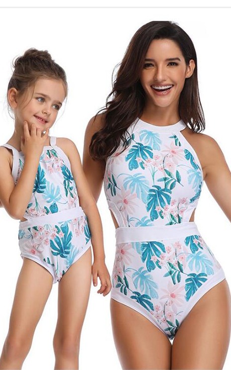 F4823-2 mother daughter one piece