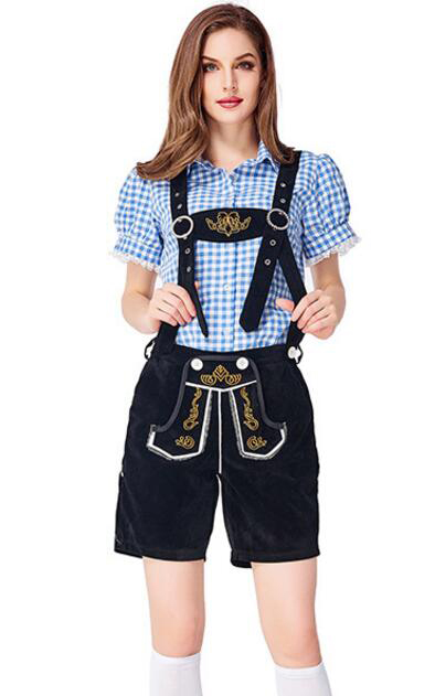 F1959-1 German Traditional Oktoberfest Couple Clothing