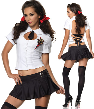 Lolita School Girl Costume