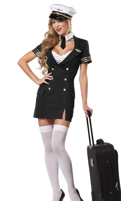 First Class Captain Pilot Costume