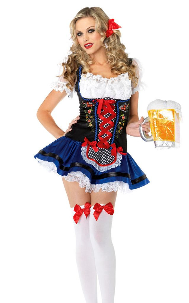 Flirty Fraulein Sexy Beer Girl Costume