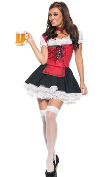 Sexy German Beer Garden Girl Costume