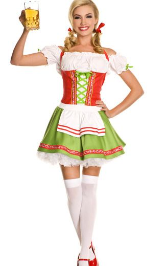 Oktoberfest Darling Sexy Womens Costume