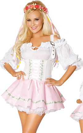 Bavarian Beer Beauty Costume