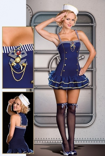 Sexy Pin Up Sailor Costume