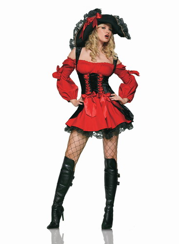 Caribbean Womens Pirate Costume