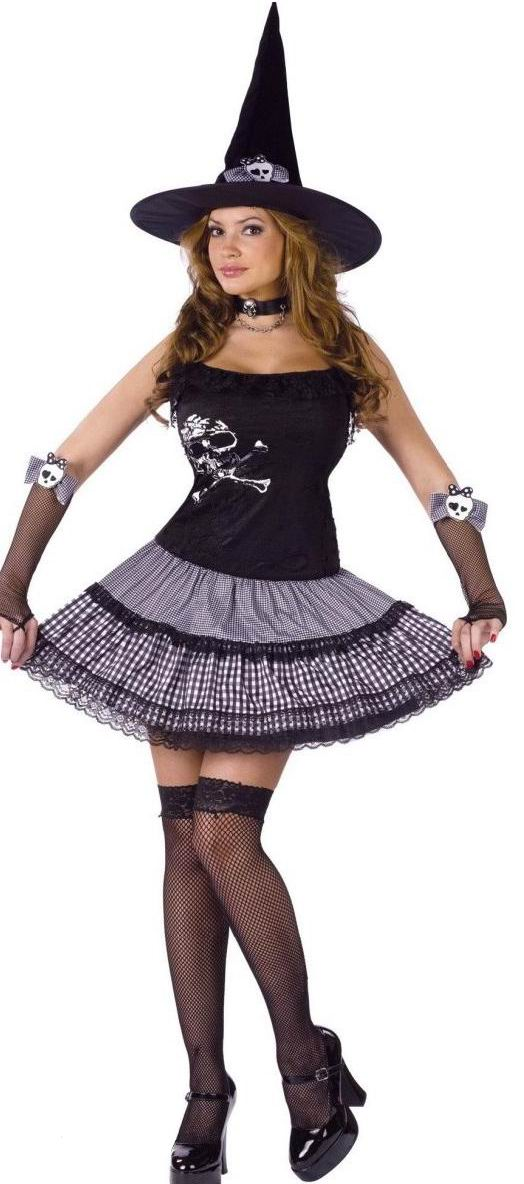 Funky Punk Witch Adult Costume