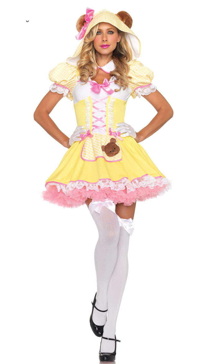beary cute goldilocks adult costume