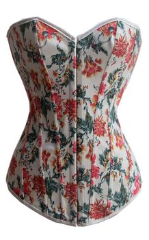 Beauty Floral Overbust Corset