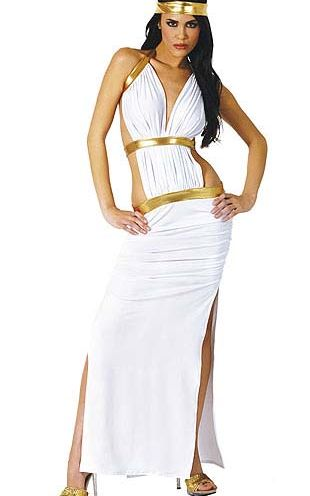 White Halter New Design Long Party Dress