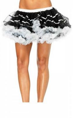 Black and White Layered TuTu