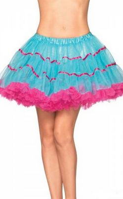 Blue and Red Layered TuTu