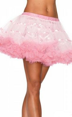 White and Pink Layered TuTu