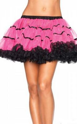 Red and Black Layered TuTu
