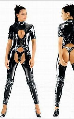 Dangerous Girl Leather Outfit