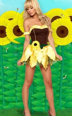 Sexy Sunflower Costume