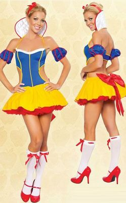 Sexy Fantasy Snow White Princess Costume