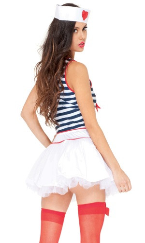 Adult Sexy Sailor Costume - All Hands on Deck