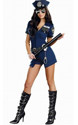Officer Sheila B. Naughty Costume