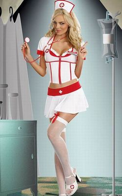 Nurse Anita B. Naughty Costume