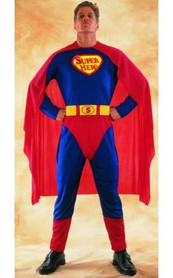 Mens Superhero adult Costume